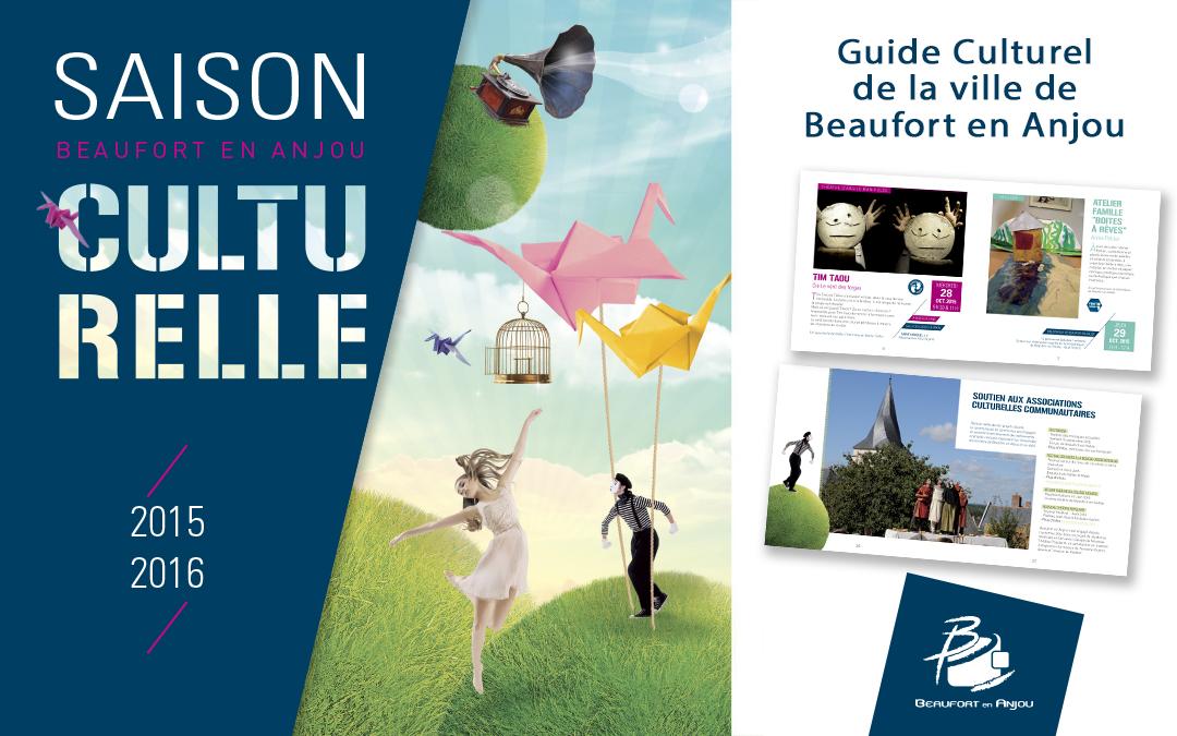 Création du guide culturel de Beaufort en Anjou (49)
