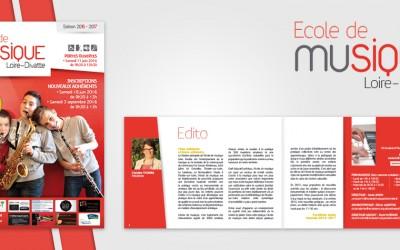 Brochure Ecole musique Loire Divatte