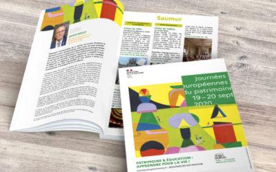 Une brochure pour les Journées du patrimoine 2020
