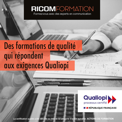 Ricom Formation a obtenu la certification Qualiopi