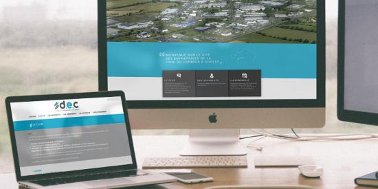 Un nouveau site pour Dynamique Entreprises du Cormier