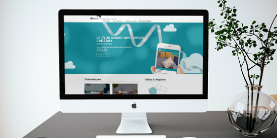 Site pour MKADO, chèque cadeau 100% mobile