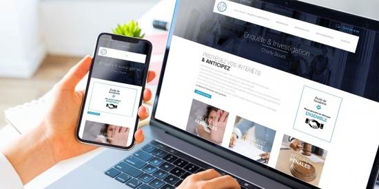 Un site web pour détective