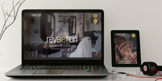 Un webdesign résolument moderne pour Révélation