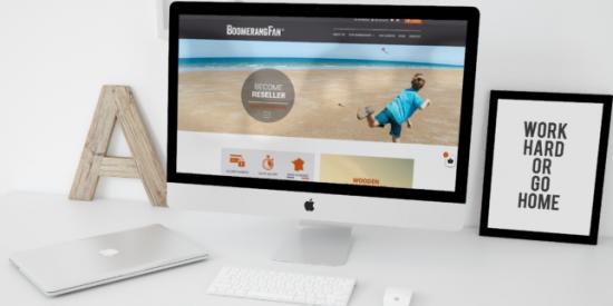 un site e-commerce pour BoomerangFan