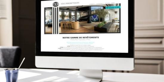 Un site internet sobre et élégant pour MCB Design