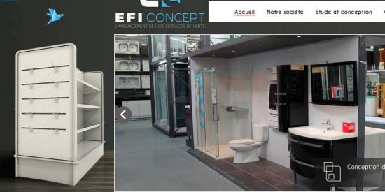 Efi concept aménagement de magasins