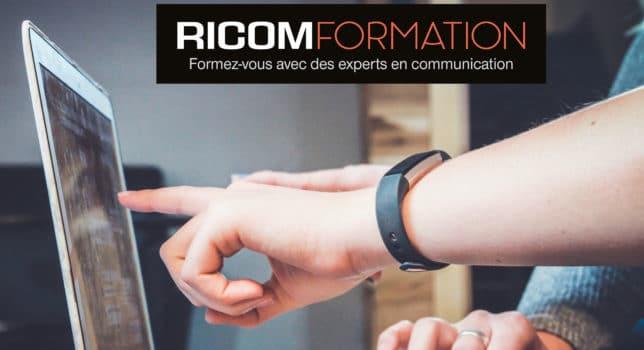 La formation professionnelle Ricom Formation