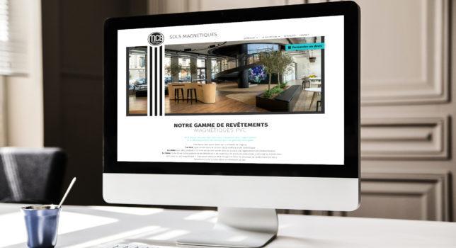 Un site internet sobre et élégant