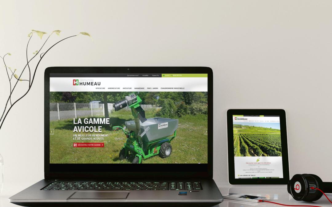 Un web design plus actuel