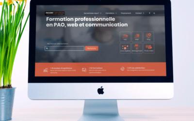 Un site web spécialisé pour Ricom Formation