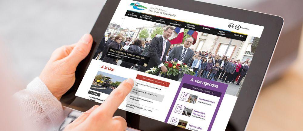 Création Site internet responsive La Tessoualle