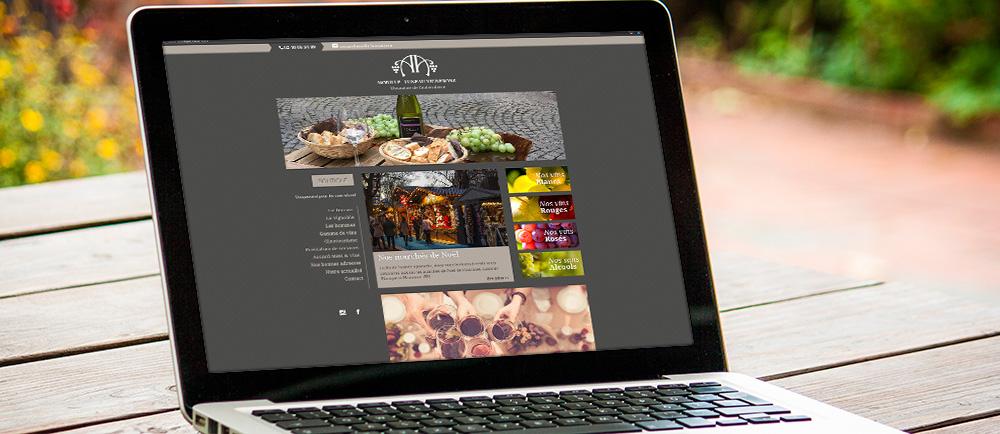 Un site web pour Morille-Luneau Vignerons