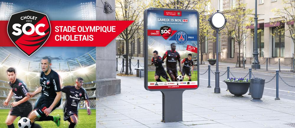 Affiche Stade Olympique Choletais